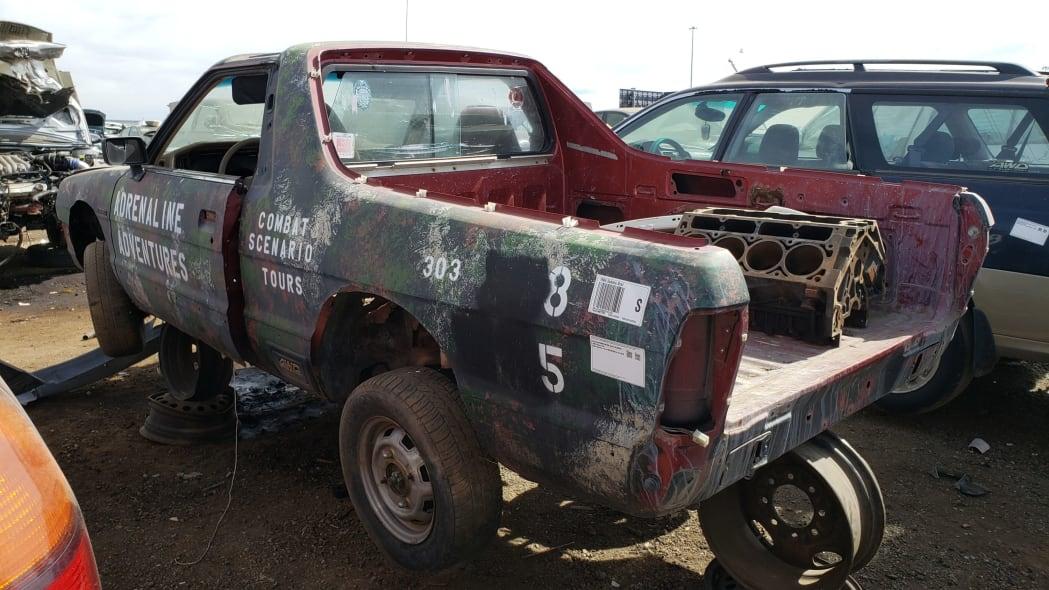 53 - 1984 Subaru BRAT in Colorado Junkyard - photo by Murilee Martin