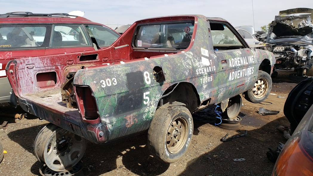 99 - 1984 Subaru BRAT in Colorado Junkyard - photo by Murilee Martin