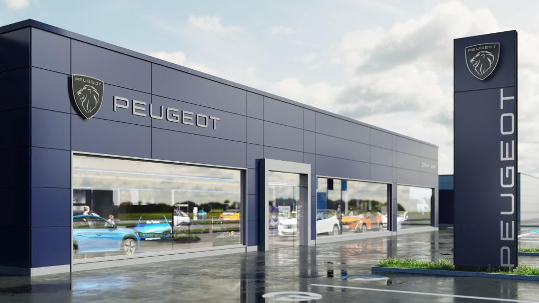 New Peugeot logo
