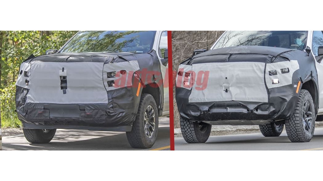 Chevy Silverado Trail Boss and ZR2 prototype