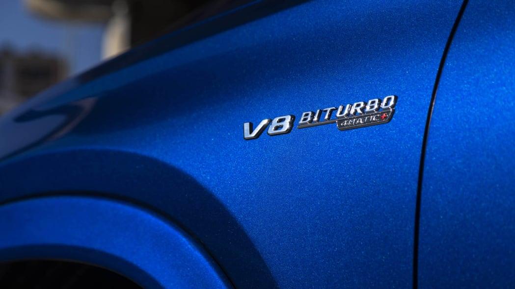 2021 Mercedes-AMG GLE 63 S Coupe badge