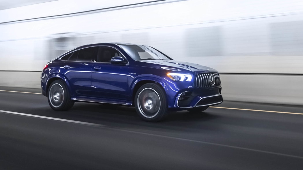 2021 Mercedes-AMG GLE 63 S Coupe right front tunnel