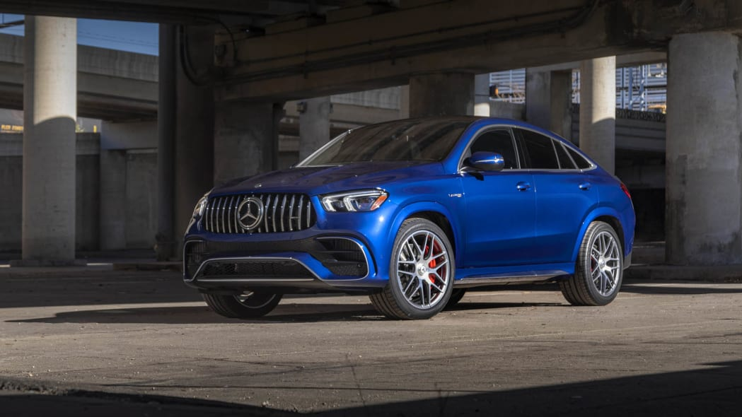 2021 Mercedes-AMG GLE 63 S Coupe front three quarter