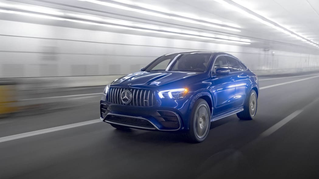 2021 Mercedes-AMG GLE 63 S Coupe left front tunnel