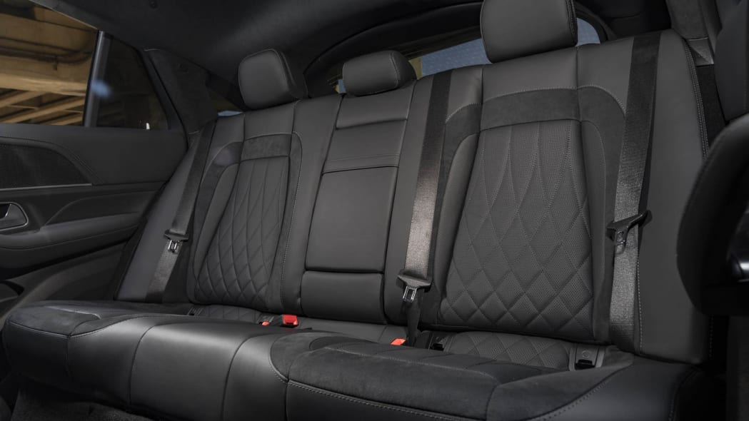 2021 Mercedes-AMG GLE 63 S Coupe back seat