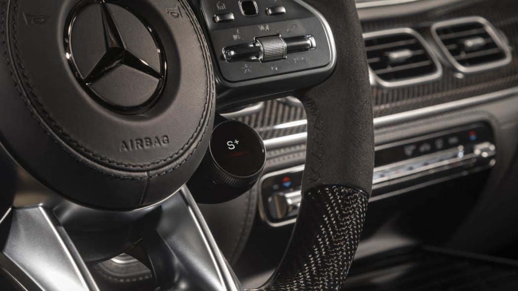 2021 Mercedes-AMG GLE 63 S Coupe wheel control