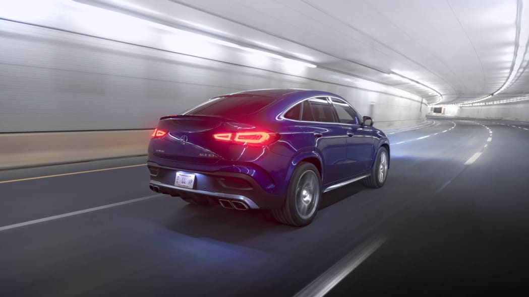 2021 Mercedes-AMG GLE 63 S Coupe right rear tunnel