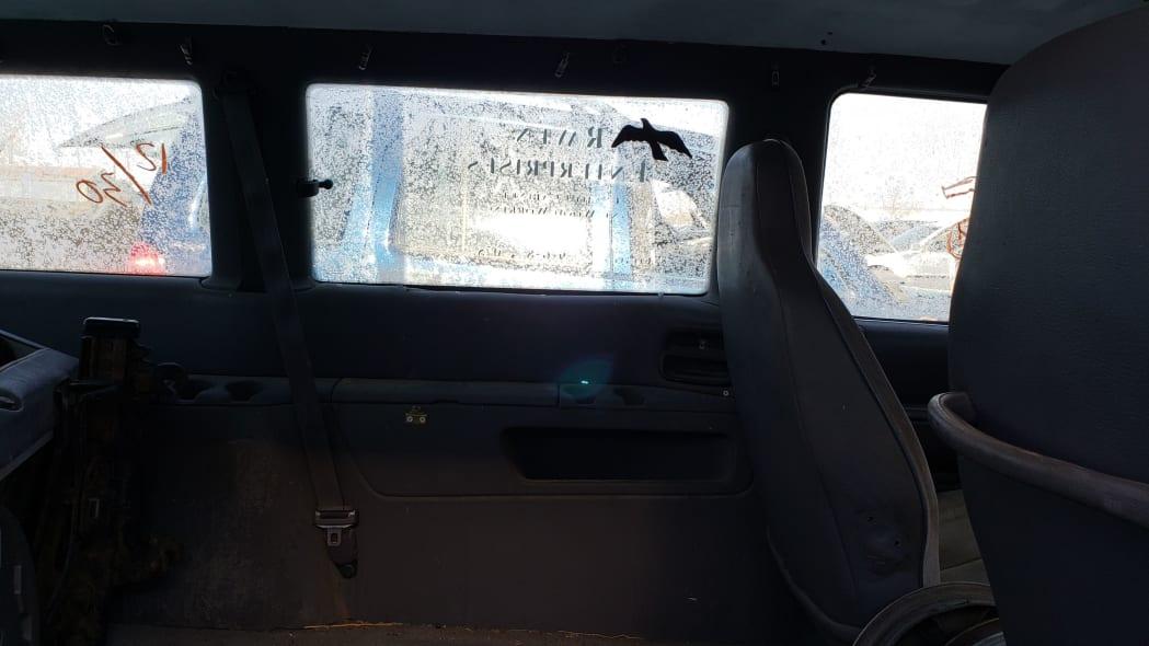23 - 1992 Dodge Caravan in Colorado Junkyard - photo by Murilee Martin