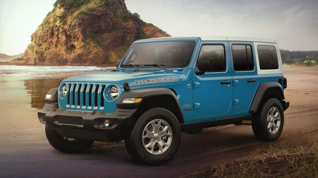 2021 Jeep Wrangler Islander Special Edition