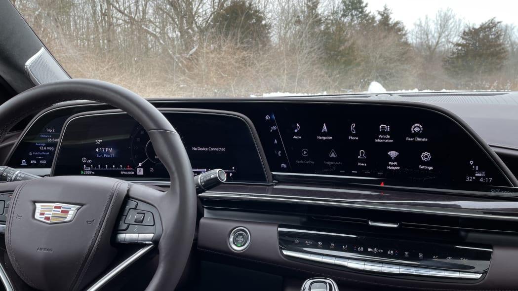 2021 Cadillac Escalade infotainment