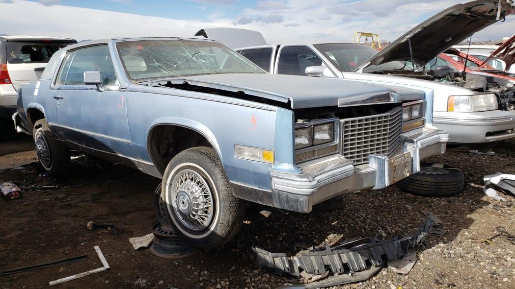 24 - 1979 Cadillac Biarritz in Colorado Junkyard - photo by Murilee Martin
