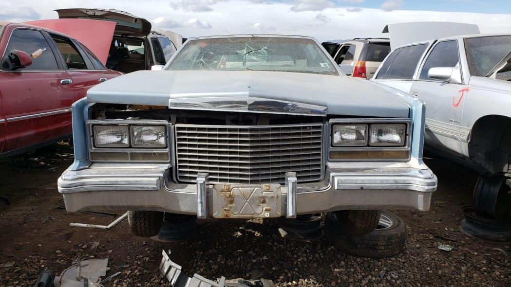 26 - 1979 Cadillac Biarritz in Colorado Junkyard - photo by Murilee Martin