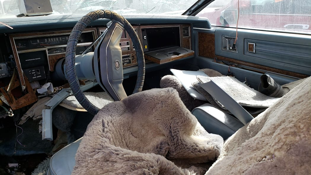 39 - 1979 Cadillac Biarritz in Colorado Junkyard - photo by Murilee Martin