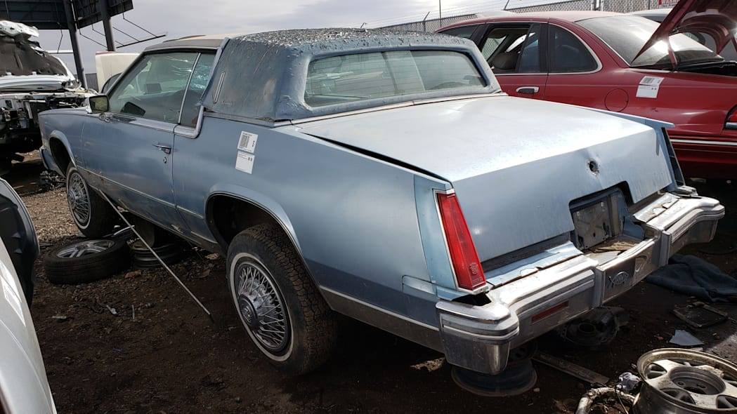 47 - 1979 Cadillac Biarritz in Colorado Junkyard - photo by Murilee Martin
