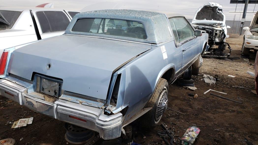 52 - 1979 Cadillac Biarritz in Colorado Junkyard - photo by Murilee Martin