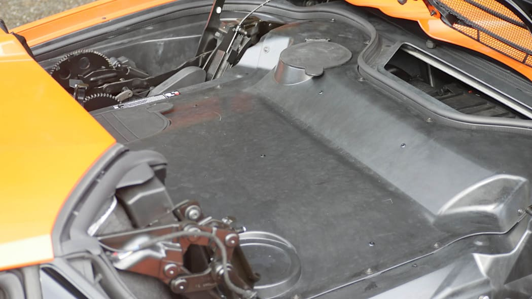 2020 Chevrolet Corvette Convertible roof hole