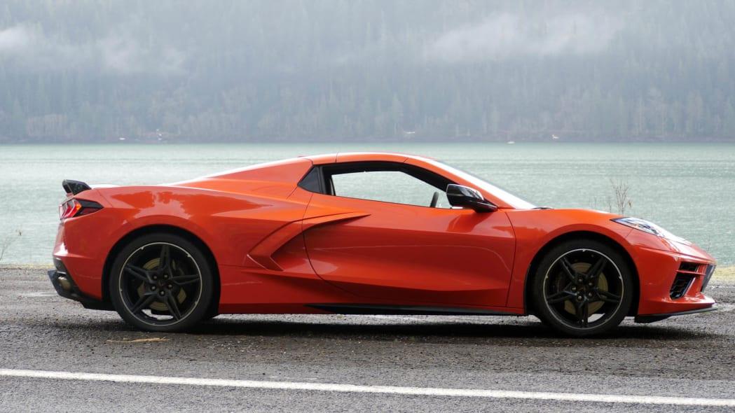 2020 Chevrolet Corvette Convertible roof up