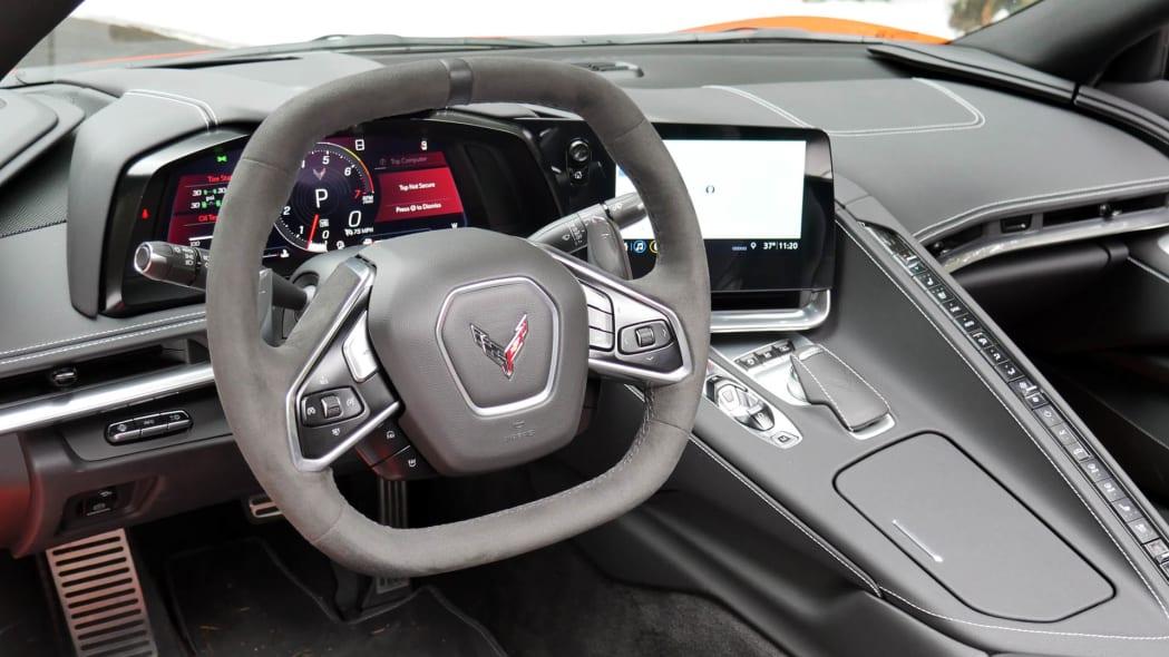 2020 Chevrolet Corvette Convertible interior