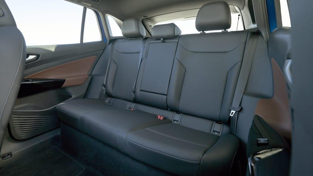 VW ID4 back seat
