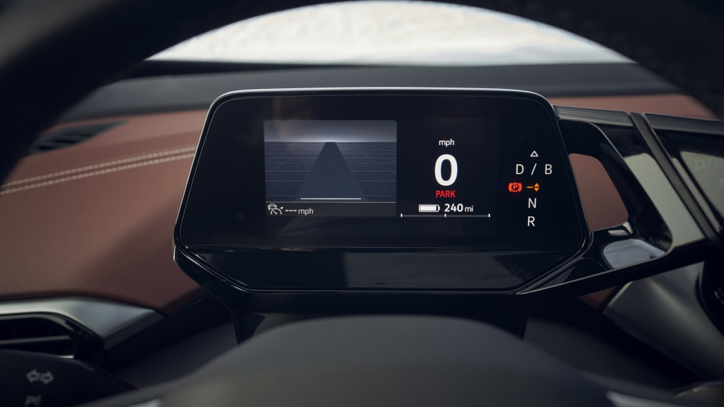 VW ID4 instrument panel