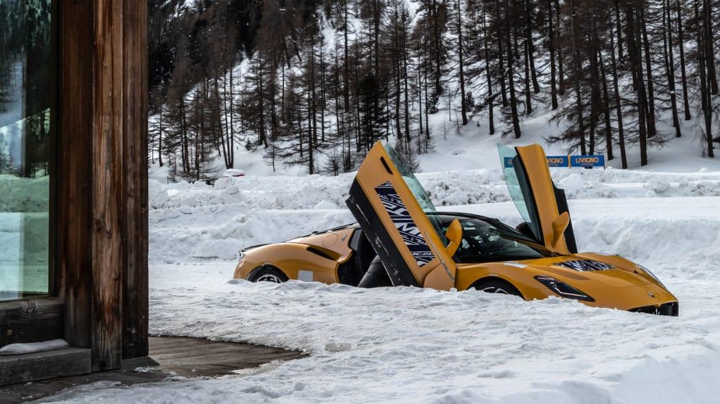 2022 Maserati MC20 winter testing