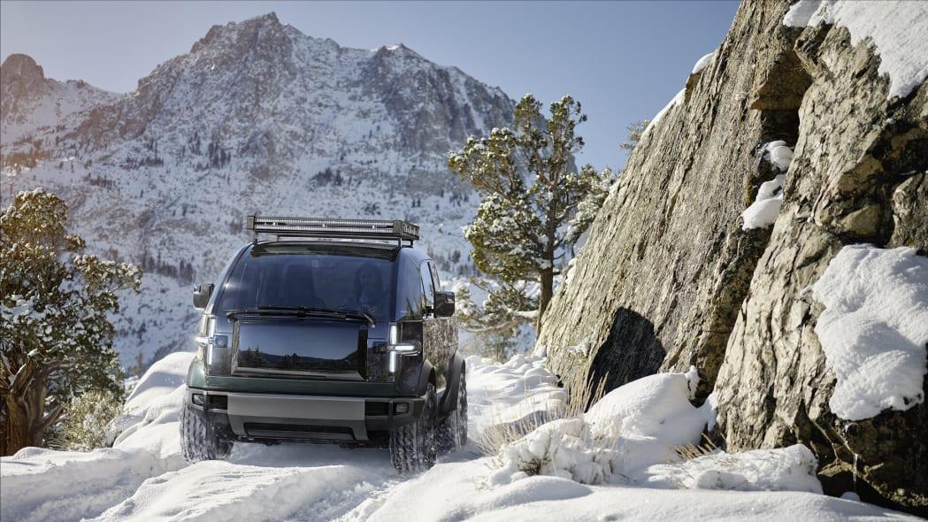 Canoo electric pickup truck (1)