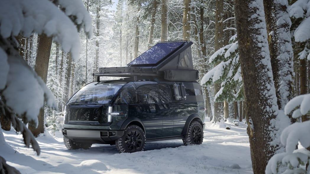 Canoo electric pickup truck