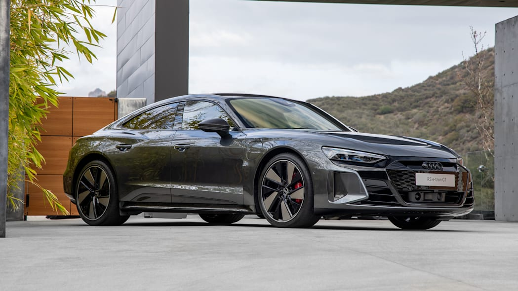 2022 Audi RS ETron GT front three quarter