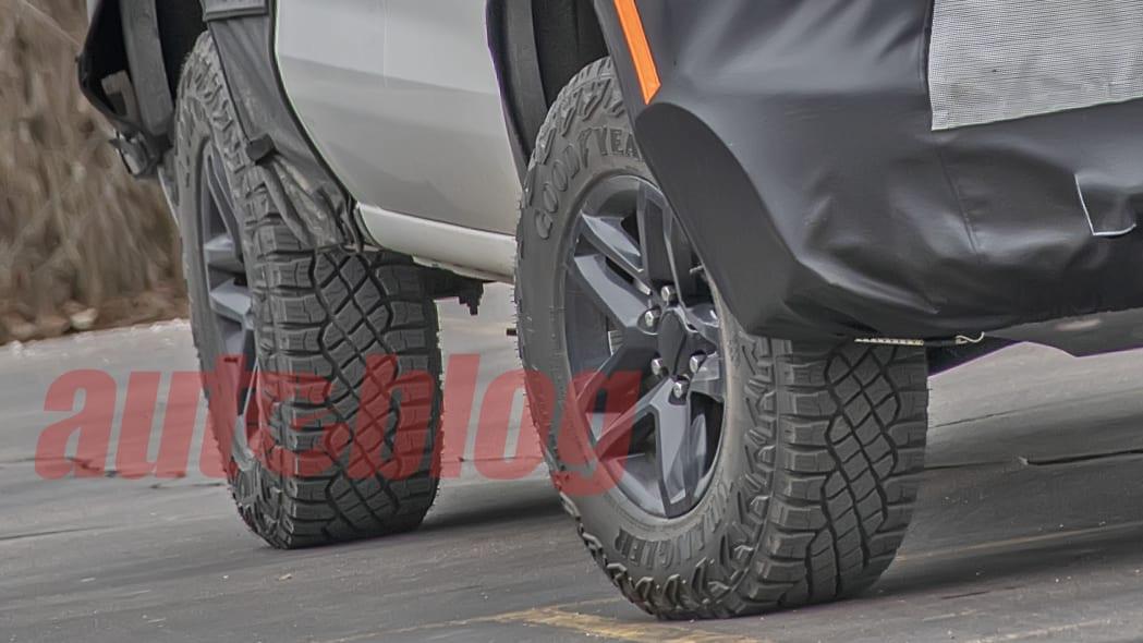 2022 Chevrolet Silverado off road prototype