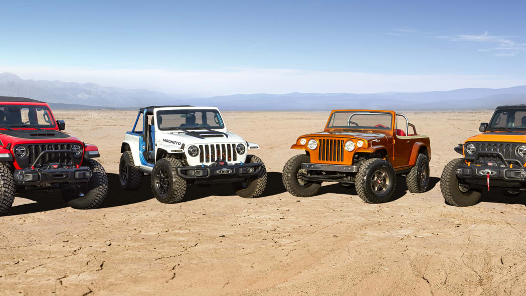 The Jeep® brand and Jeep Performance Parts team again join forc