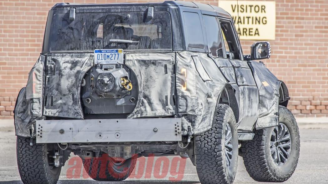 Bronco Warthog spy photos