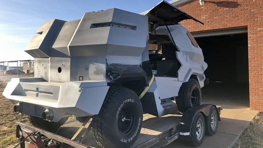 """""""Judge Dredd"""" Land Rover 101 Forward Control"""