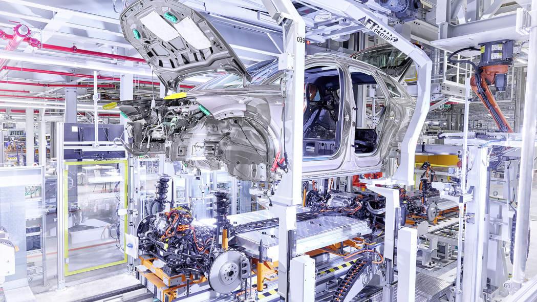 Audi Q4 E-Tron production
