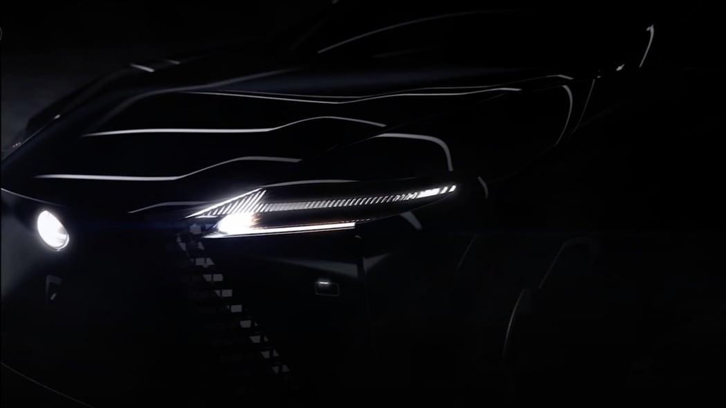 Lexus concept car teaser