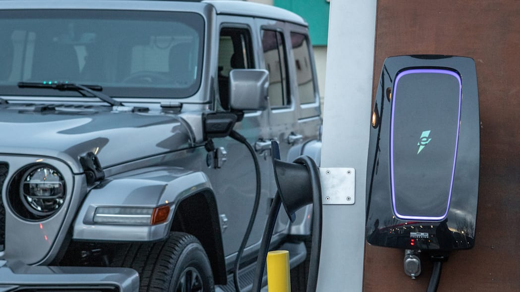 The Jeep® brand is creating the Jeep 4xe Charging Network, inst