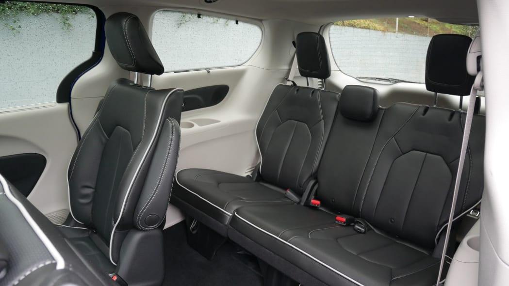 2021 Chrysler Pacifica Hybrid Limited interior third row