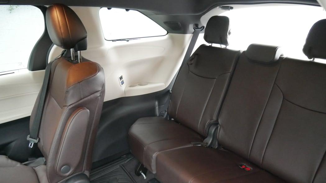 2021 Toyota Sienna interior third row