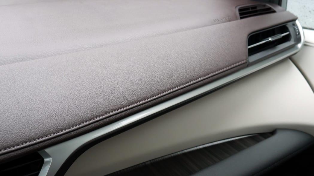 2021 Toyota Sienna interior dash trim detail