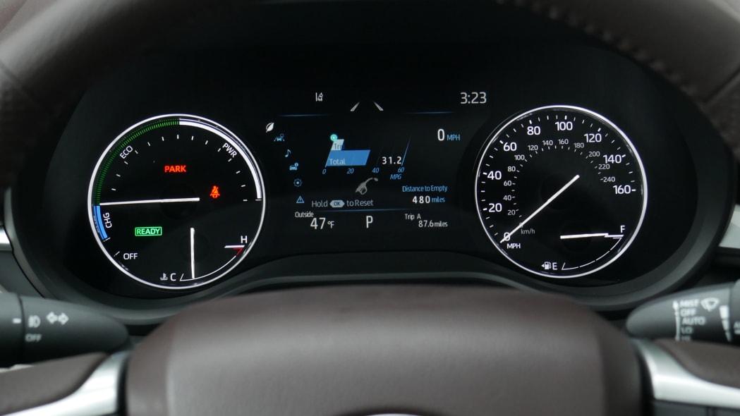 2021 Toyota Sienna interior gauges