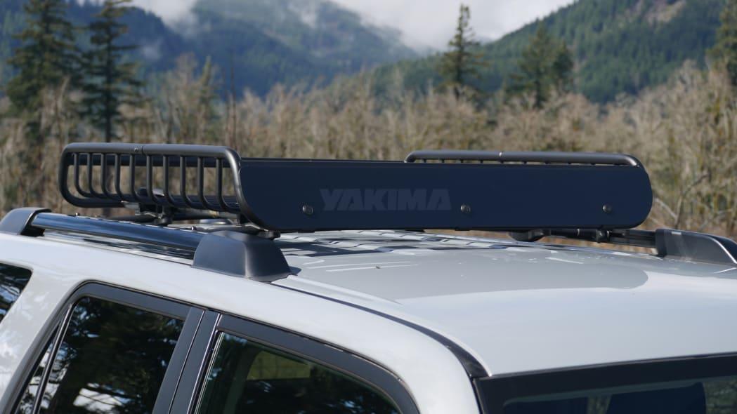 2021 Toyota 4Runner Trail Edition Yakima rack