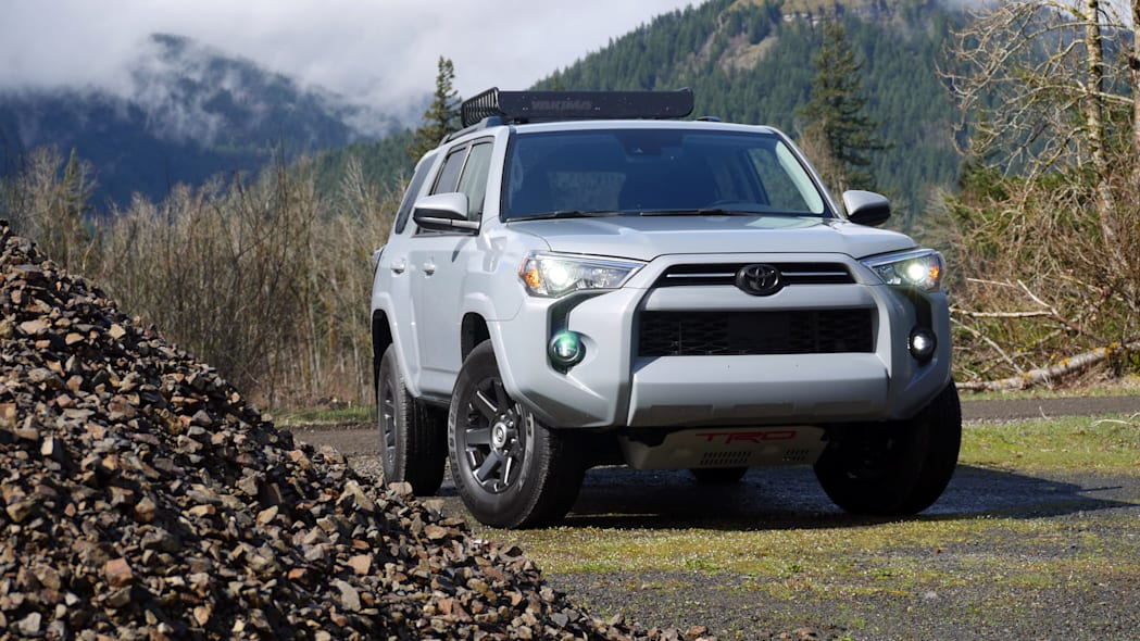 2021 Toyota 4Runner Trail Edition front