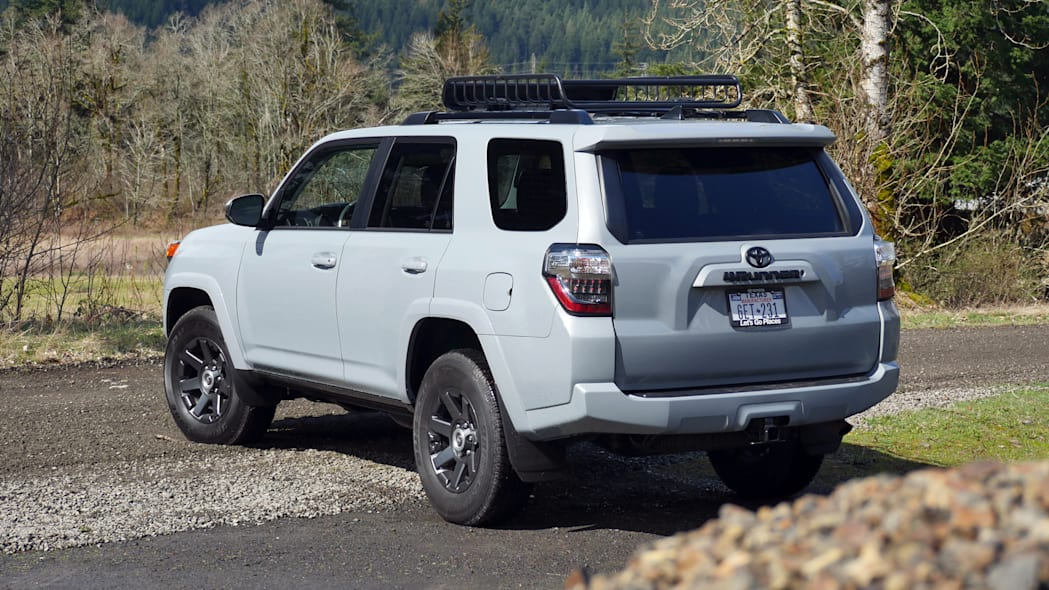 2021 Toyota 4Runner Trail Edition rear three quarter
