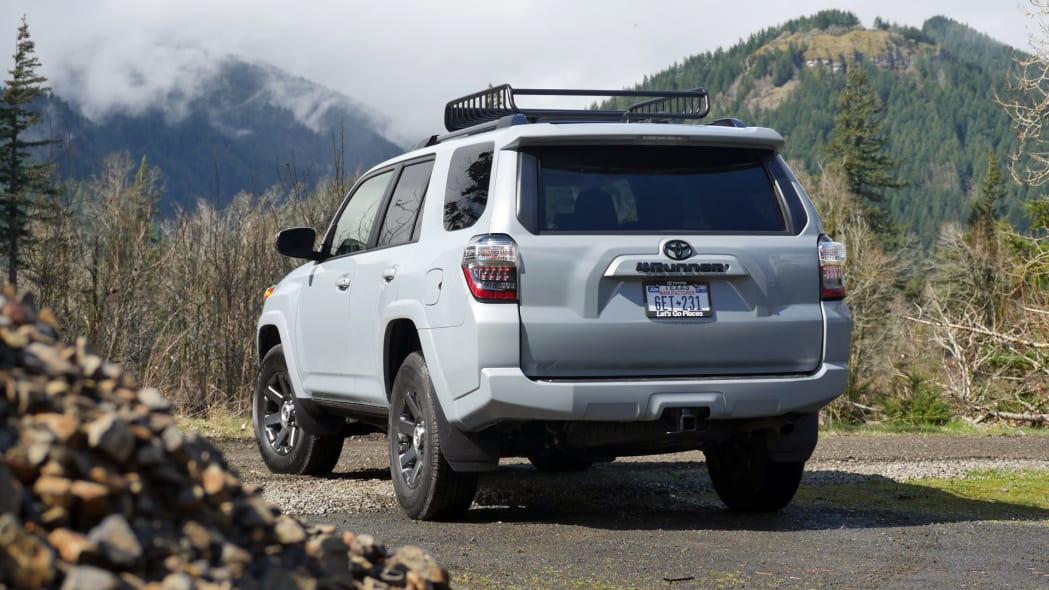 2021 Toyota 4Runner Trail Edition rear