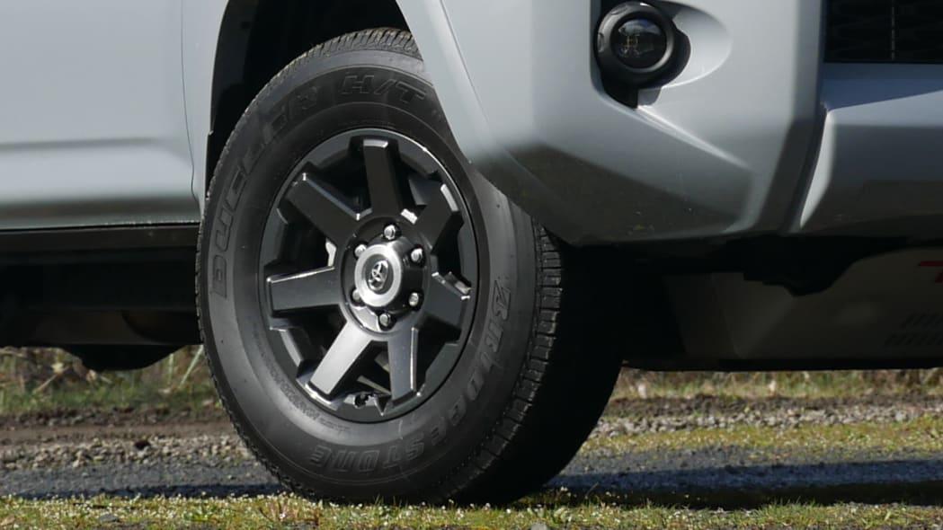 2021 Toyota 4Runner Trail Edition wheel