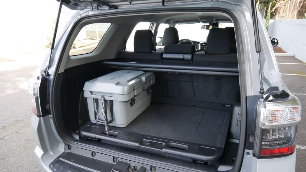 2021 Toyota 4Runner Trail Edition interior cargo
