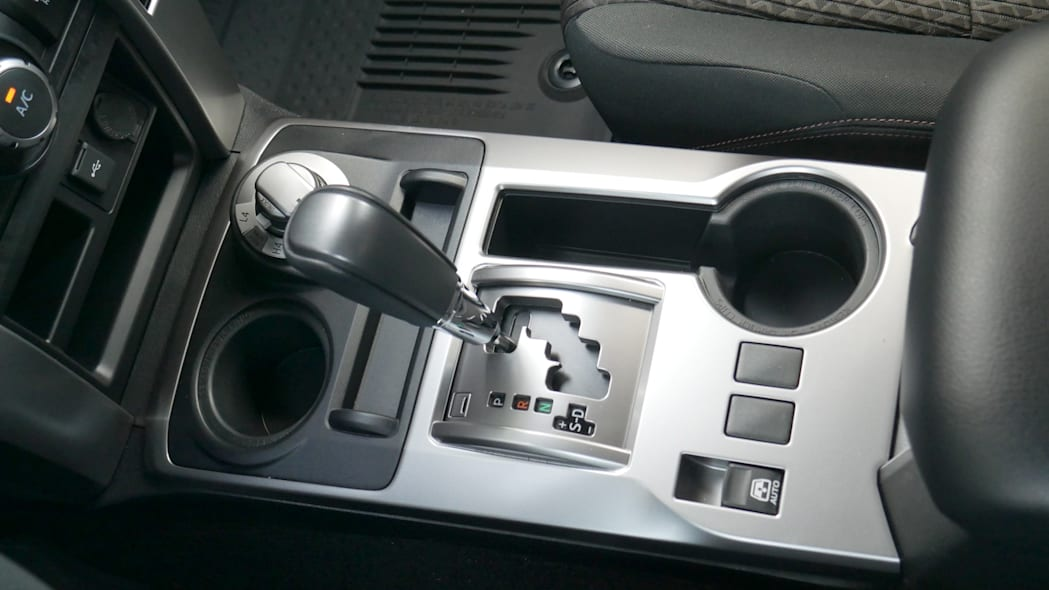 2021 Toyota 4Runner Trail Edition interior center console