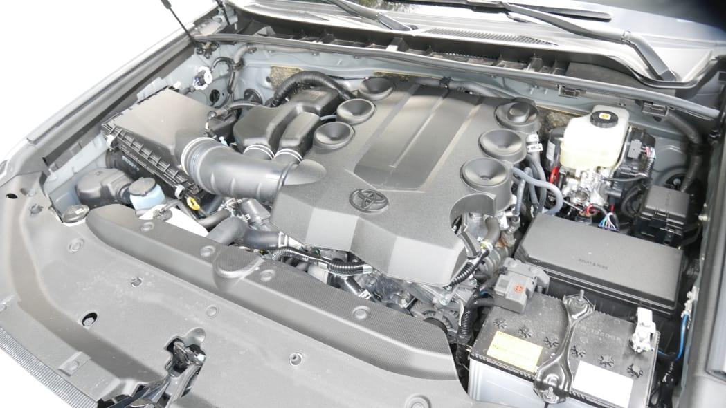 2021 Toyota 4Runner Trail Edition interior engine