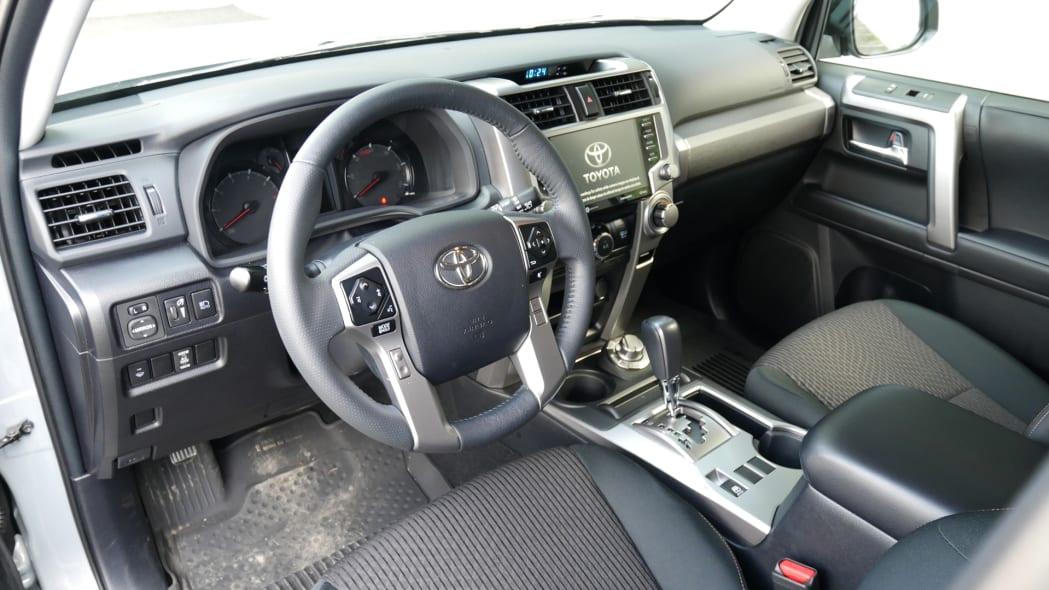 2021 Toyota 4Runner Trail Edition interior