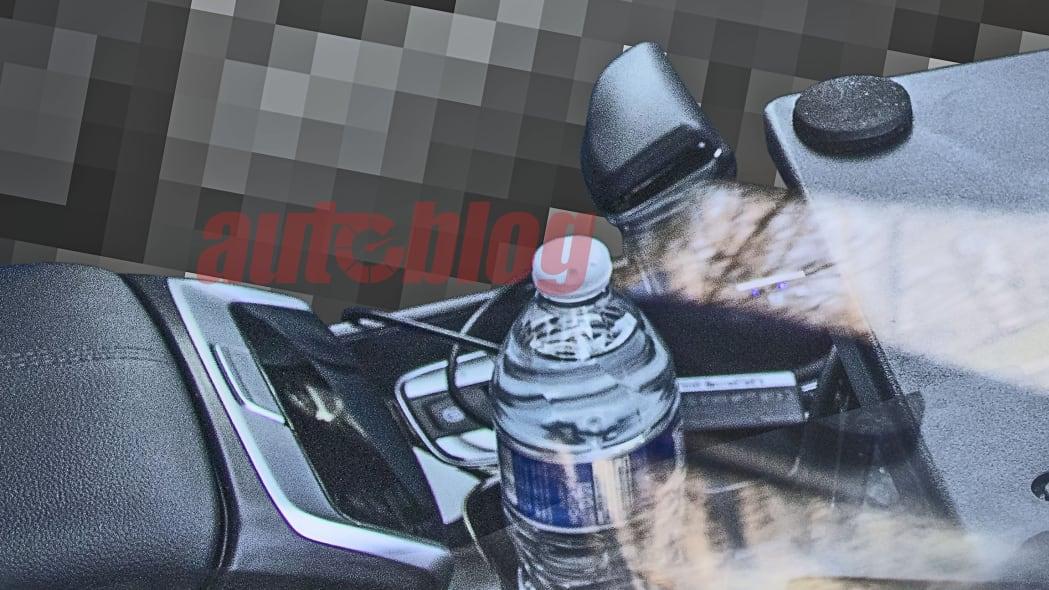 2022 Hyundai Santa Cruz interior spy photos