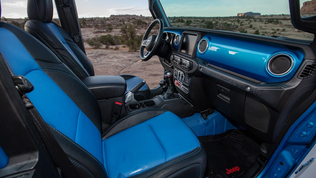 Jeep Magneto BEV interior